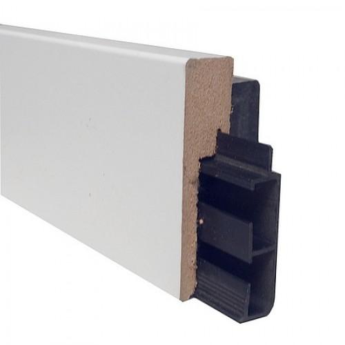 kabelplint combitech rechte mdf 80 x 19 mm x 2 4 meter. Black Bedroom Furniture Sets. Home Design Ideas