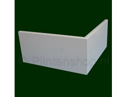 Mdf plinten gegrond affordable mdf moderne plint xmm m gegrond