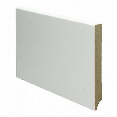 Geliefde Rechte moderne MDF plint 150 x 18 mm x 2,4 meter RAL9010 JM59