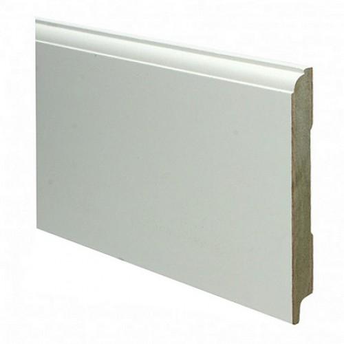 Eigentijdse kraalmodel mdf plint 150 x 18 mm x 2 4 meter ral9010 - Eigentijdse muur ...